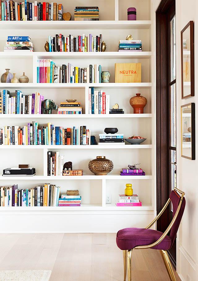 7 idees pour une bibliotheque dans son salon