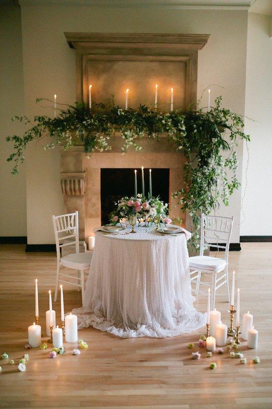 Une sublime table pour un diner romantique