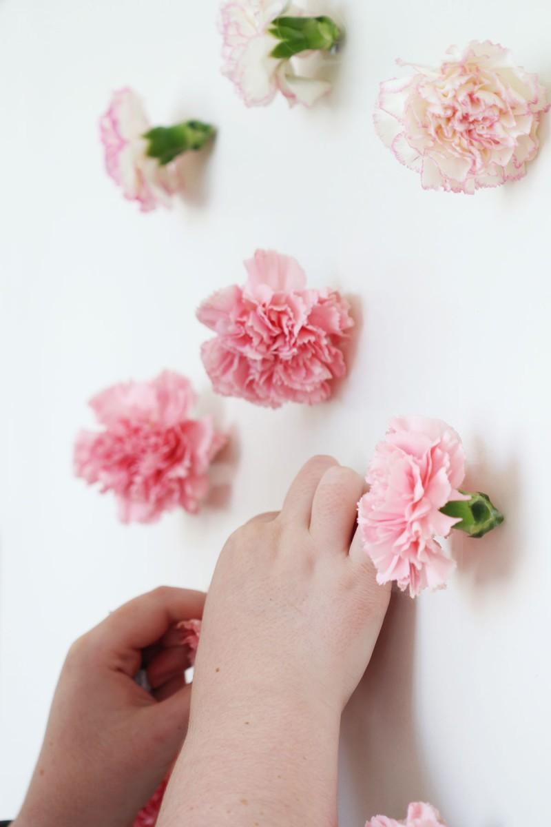 Tutoriel simple et rapide pour créer une guirlande de fleur