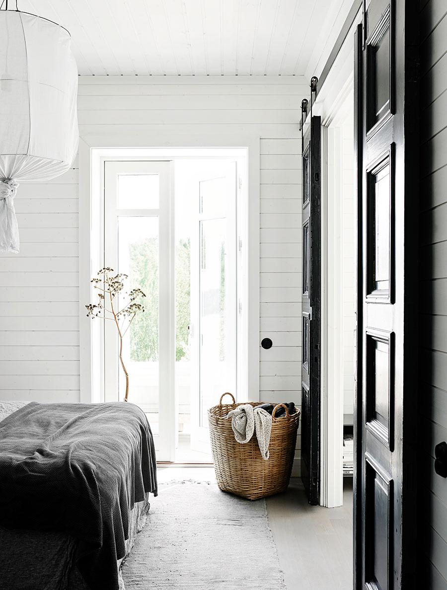Une déco scandinave en noir et blanc