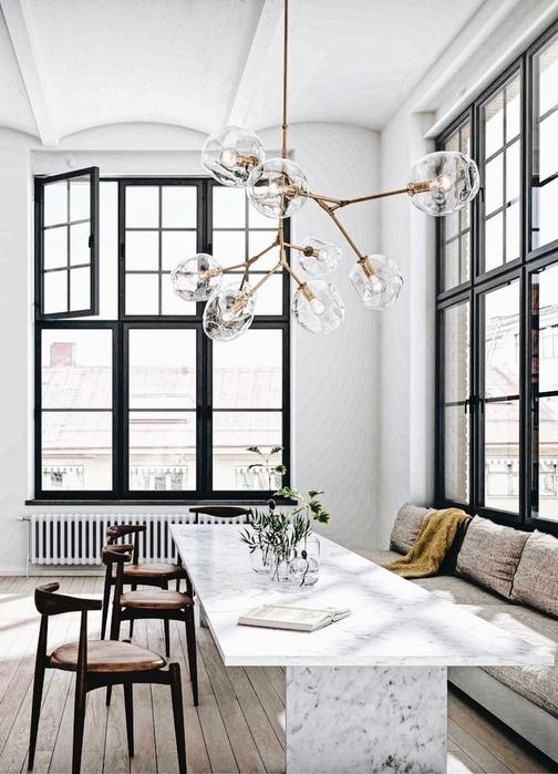 Idée décoration pour une salle à manger chic et moderne