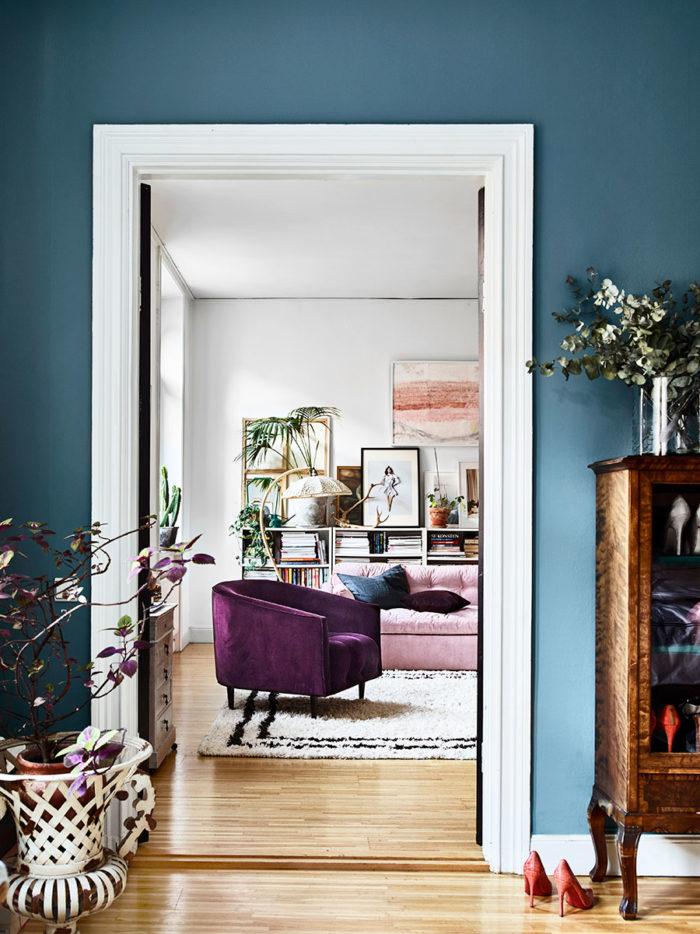 Un intérieur bohème aux couleurs fabuleuses - Le blog déco ...