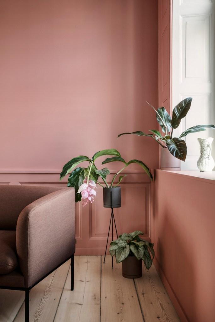 Comment associer le rose et le vert en décoration