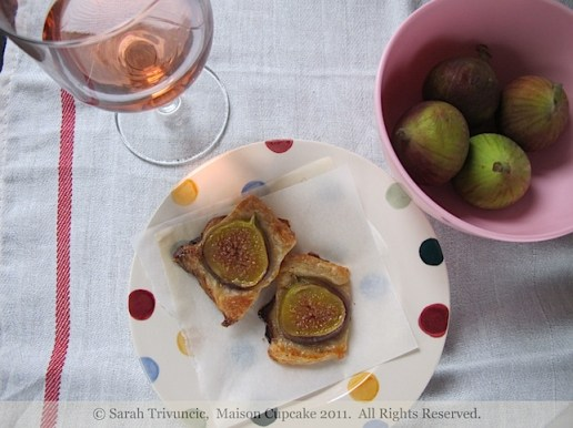 Fig Galettes by Sarah Trivuncic Maison Cupcake