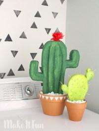 DIY Cactus Dcor - Make It Fun Blog