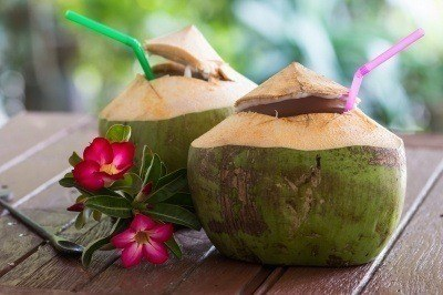 Try a jelly coconut like a local.
