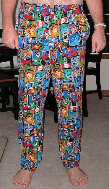 Imagine getting locked out of you hotel room in these pajamas. Photo credit - Christopher, Flicker, Creative Commons