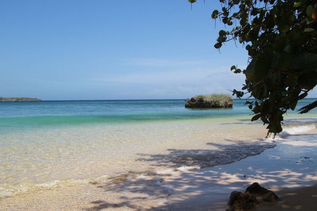 Jamaica is surrounded by the Caribbean Sea