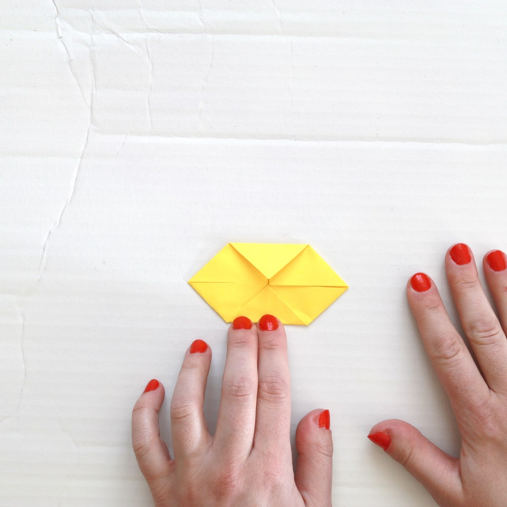 easy origami chicken | Indesign Arts and Crafts | Origami easy ... | 1000x1000
