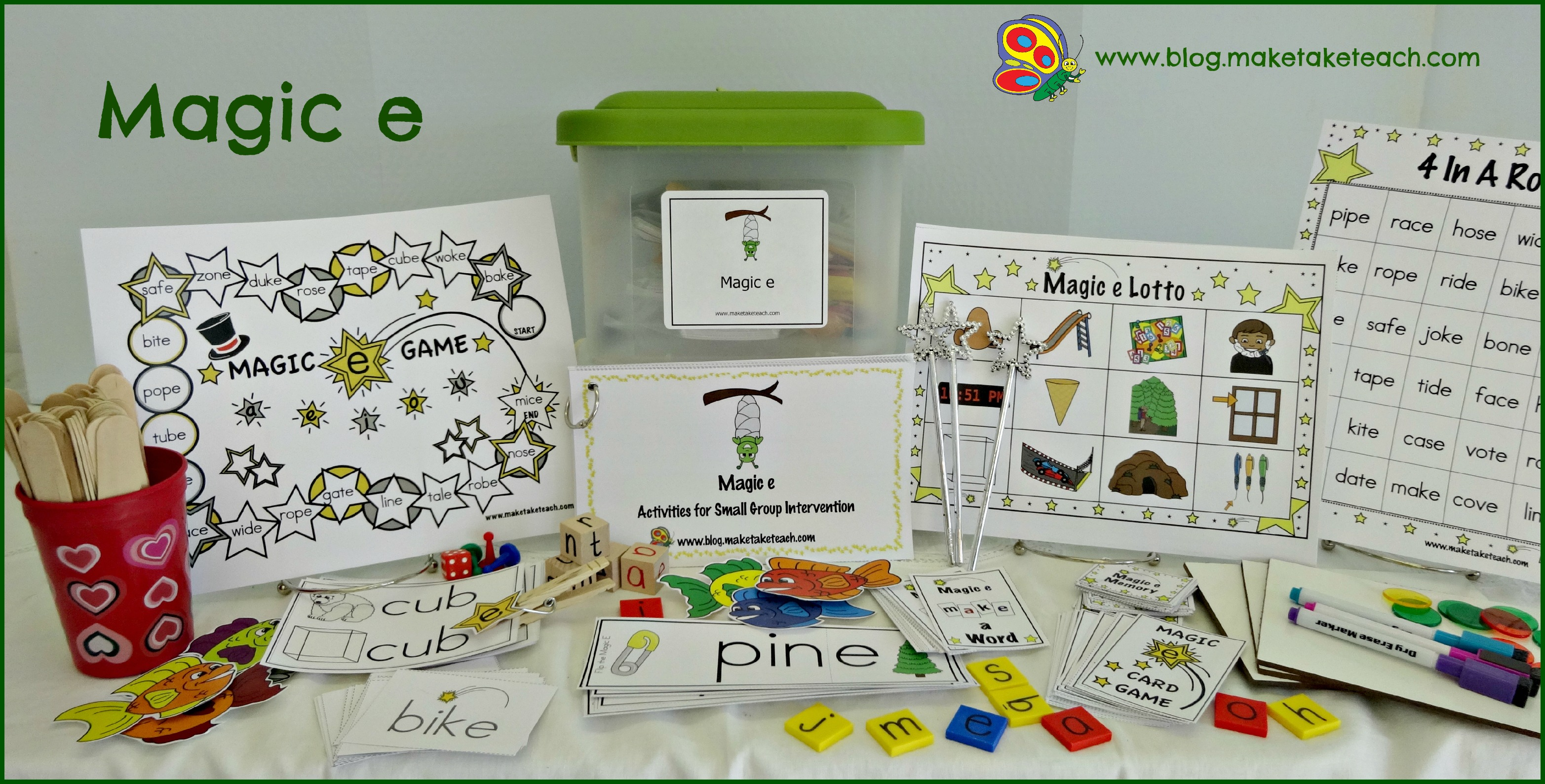 Activities For Teaching The Magic E Rule