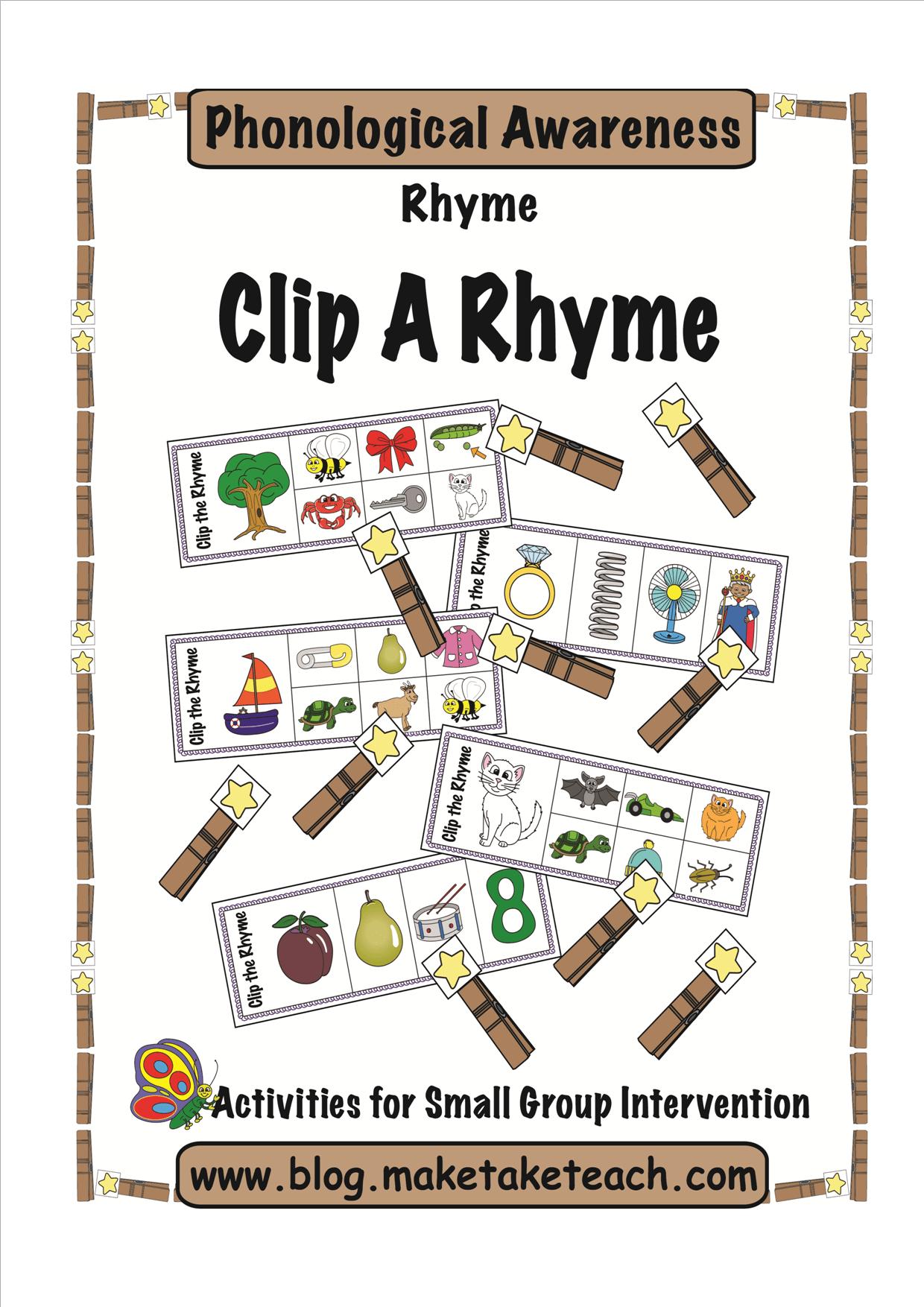 Diy Rhyme Magnets