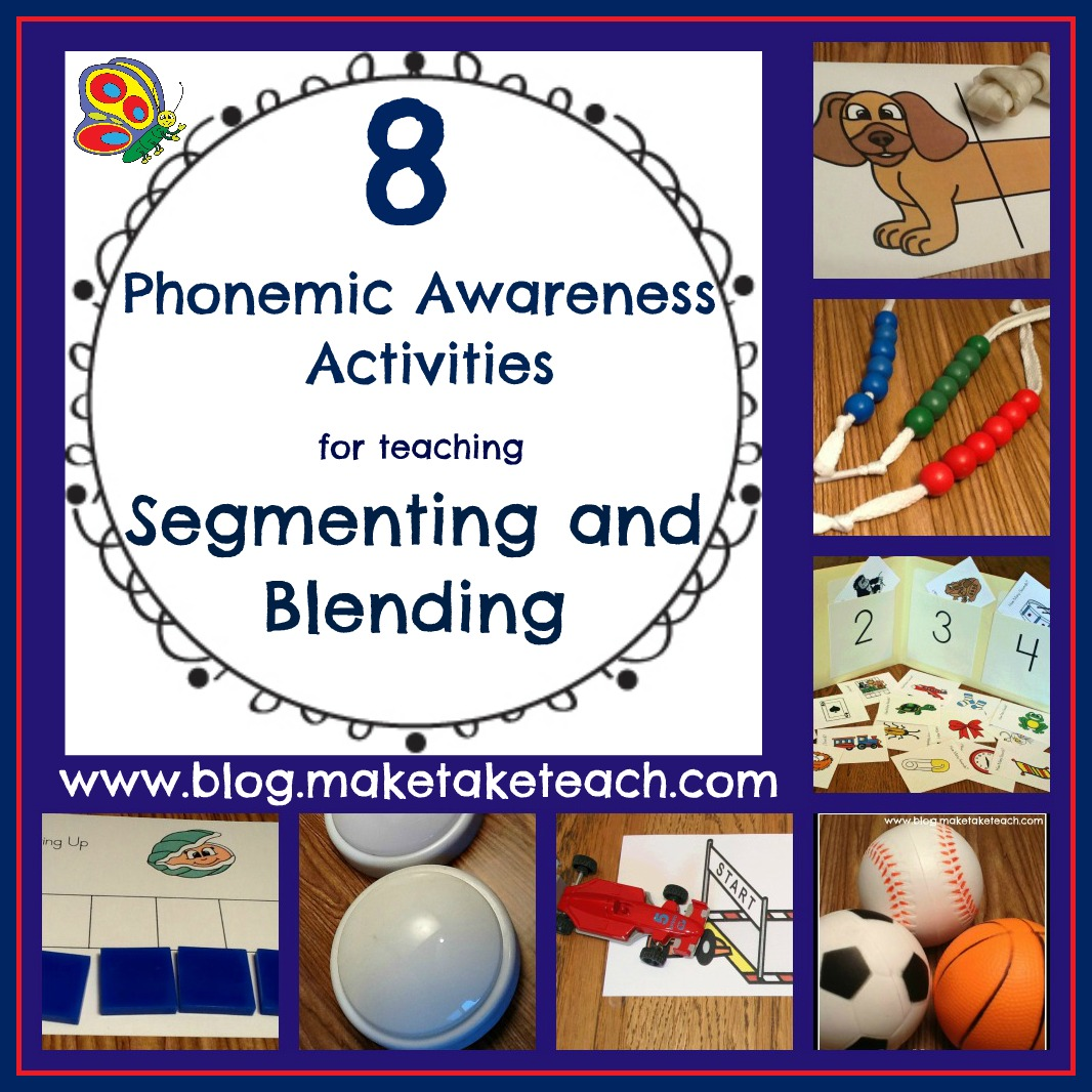 hight resolution of 8 Great Ideas for Teaching Segmenting and Blending - Make Take \u0026 Teach