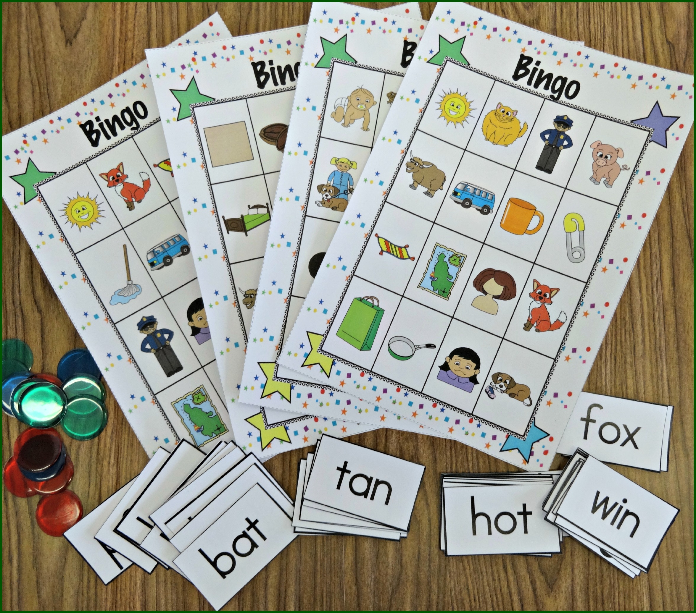 Response To Intervention Short Vowels Cvc Activity Pack