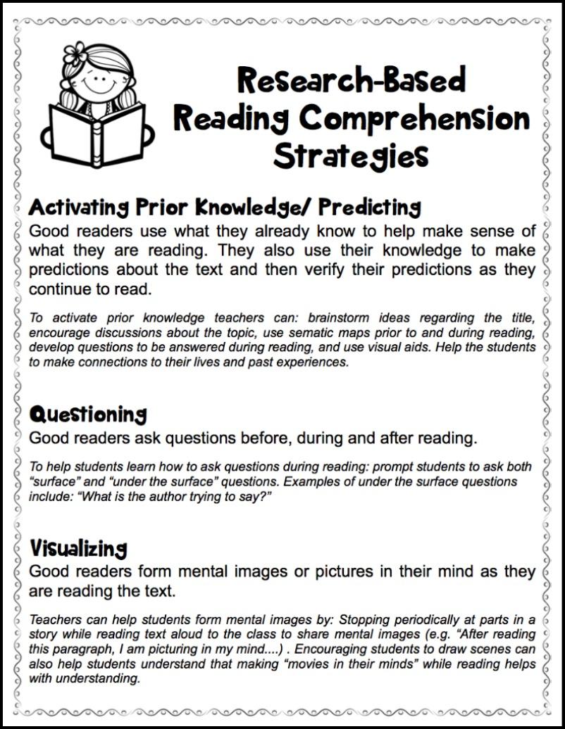 medium resolution of Fostering Thoughtful Literacy - Make Take \u0026 Teach