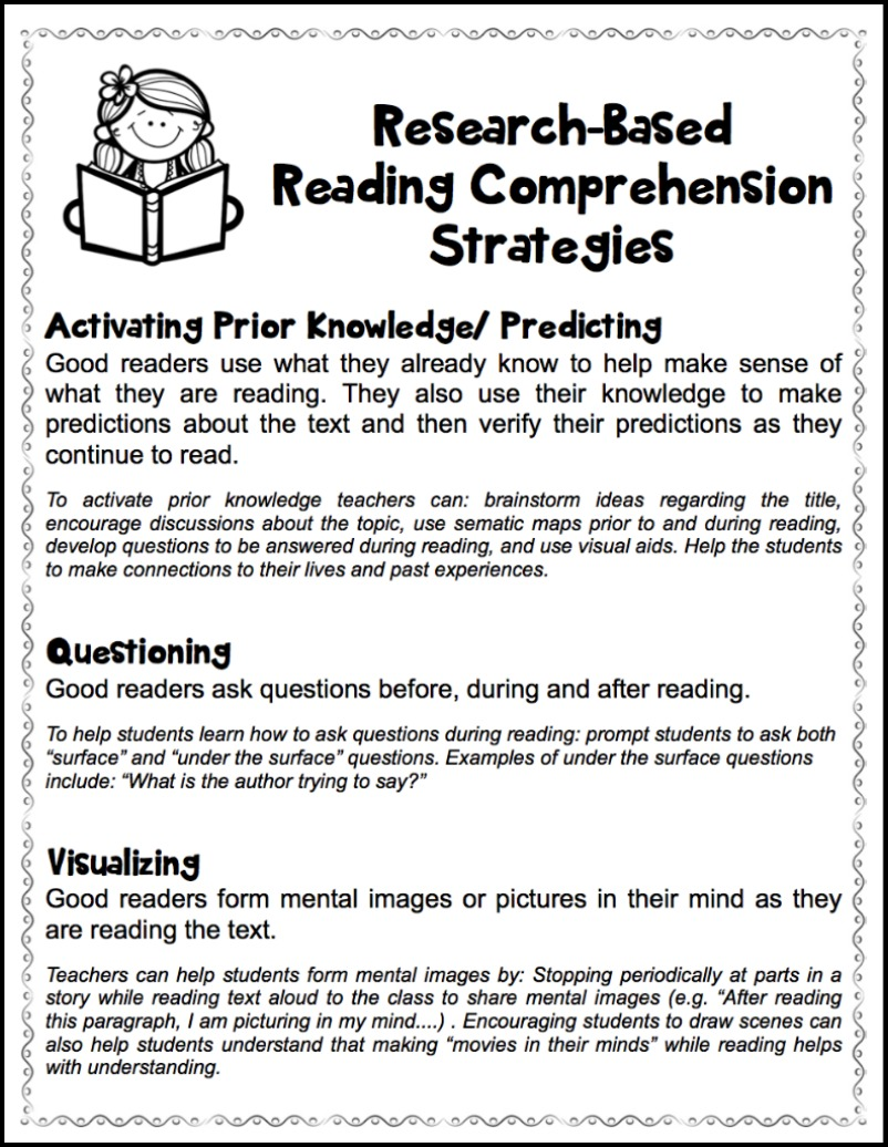 hight resolution of Fostering Thoughtful Literacy - Make Take \u0026 Teach
