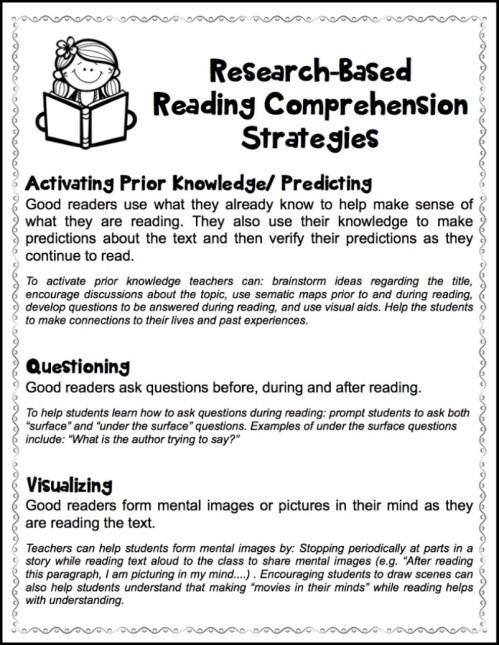 small resolution of Fostering Thoughtful Literacy - Make Take \u0026 Teach