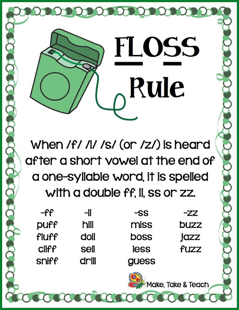 hight resolution of The FLOSS Rule - Make Take \u0026 Teach
