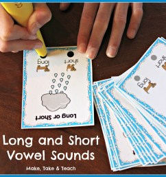 8 Hands-On Activities for Teaching Long and Short Vowel Sounds - Make Take  \u0026 Teach [ 2307 x 2268 Pixel ]