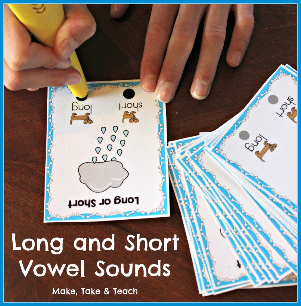 medium resolution of 8 Hands-On Activities for Teaching Long and Short Vowel Sounds - Make Take  \u0026 Teach