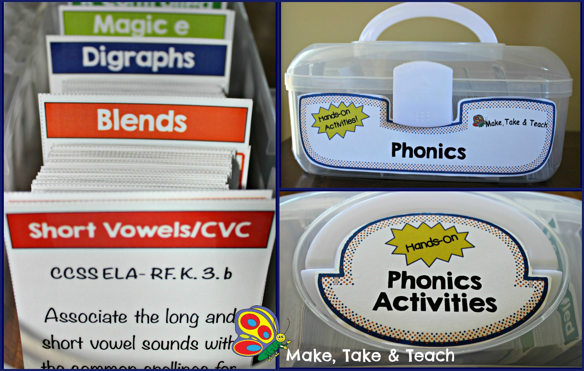Phonics Activities On The Go