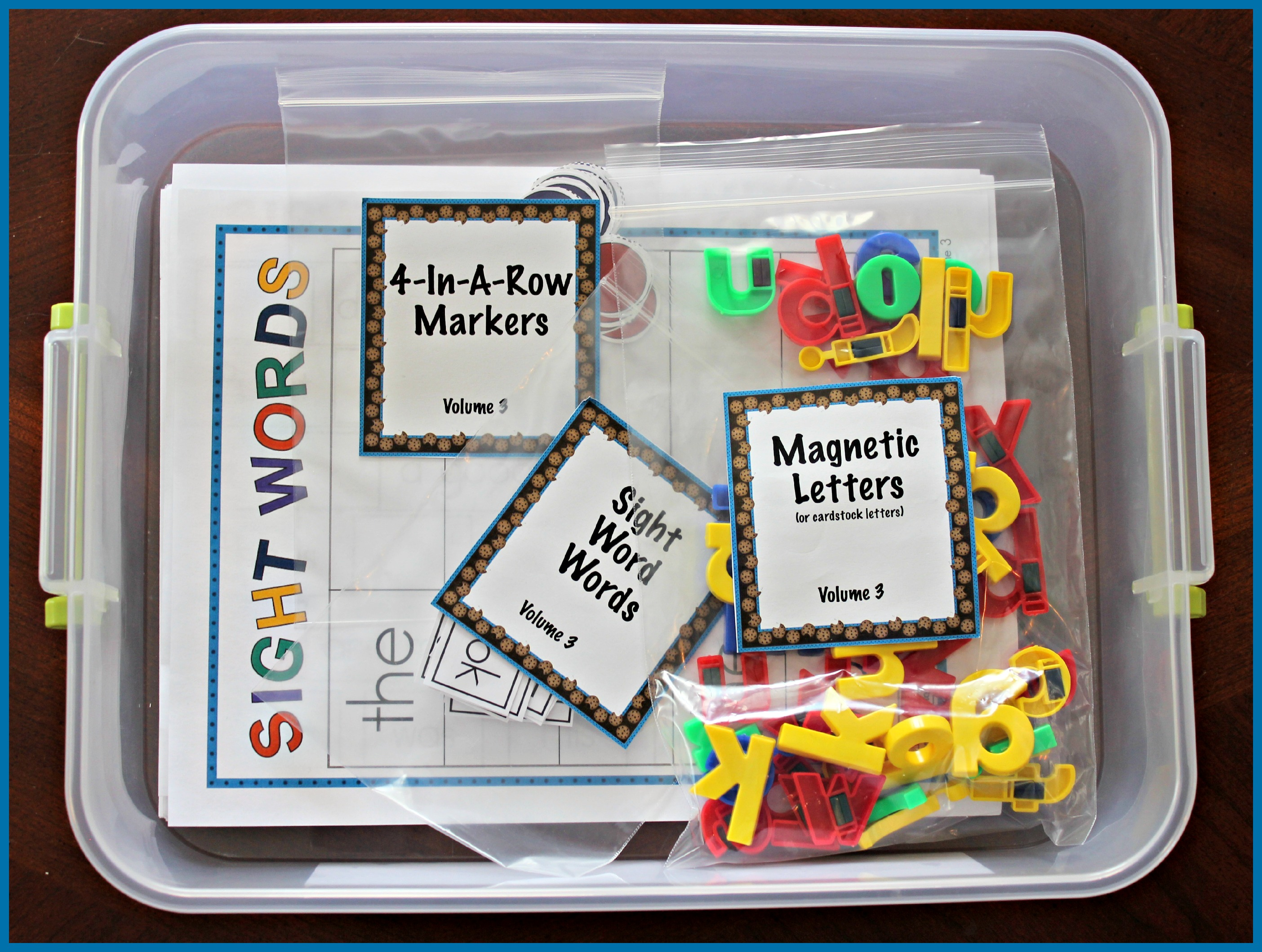 Cookie Sheet Bundle For Sight Words Blends Digraphs And