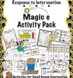 Resources for Teaching the Magic e Rule - Make Take \u0026 Teach [ 3300 x 2550 Pixel ]