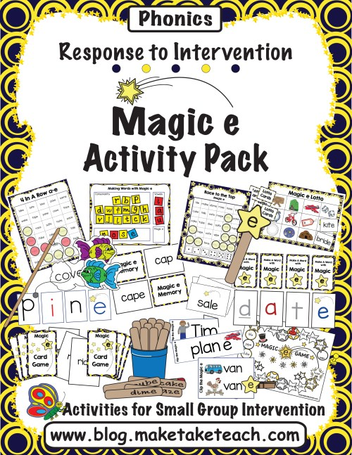 small resolution of Resources for Teaching the Magic e Rule - Make Take \u0026 Teach