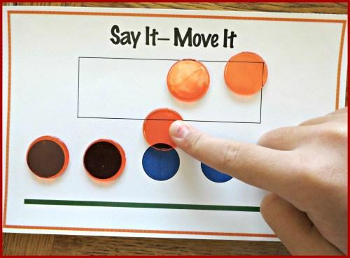 small resolution of Tools for Teaching Phoneme Segmentation - Make Take \u0026 Teach