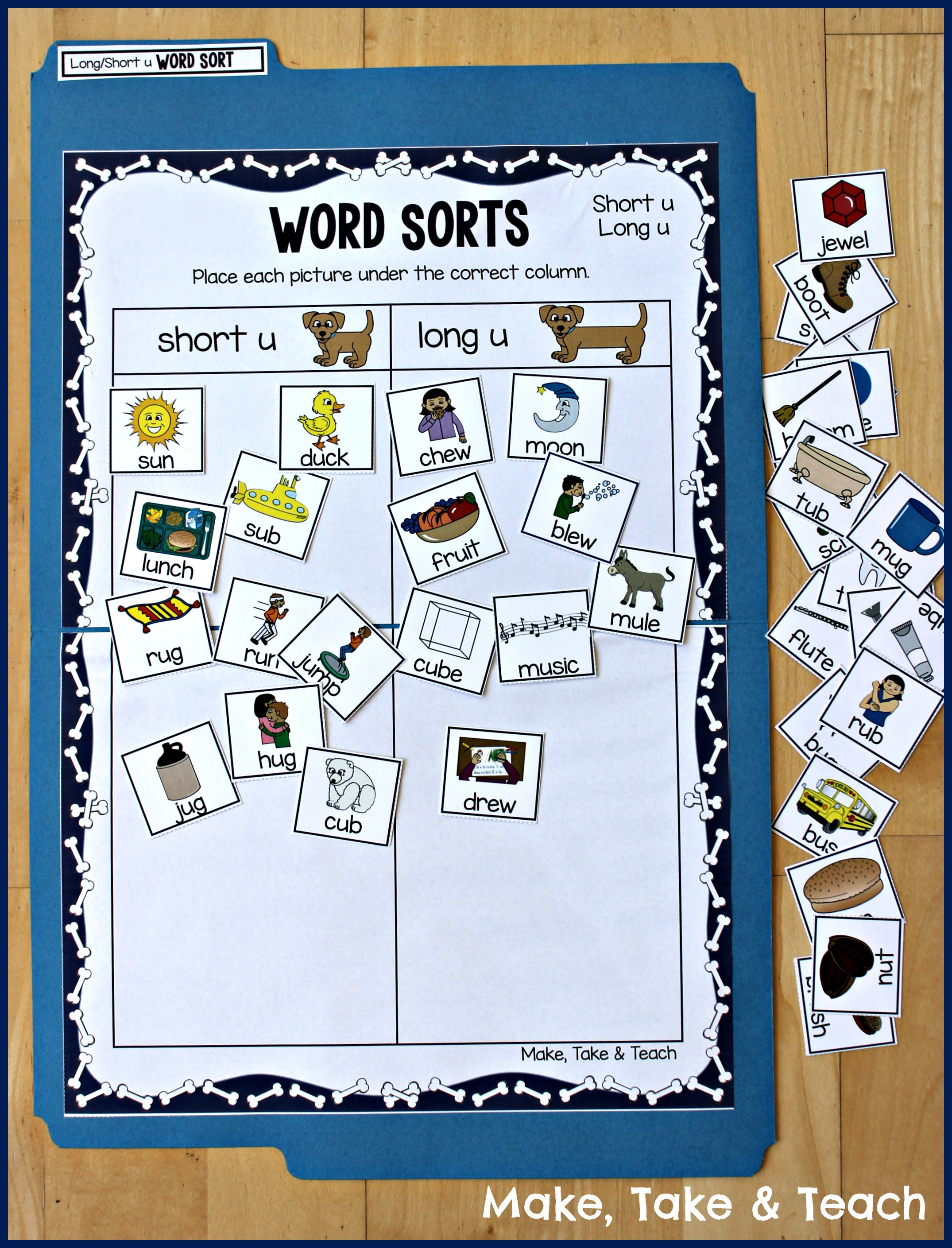 Teaching Long And Short Vowel Sounds Using Picture Sorting