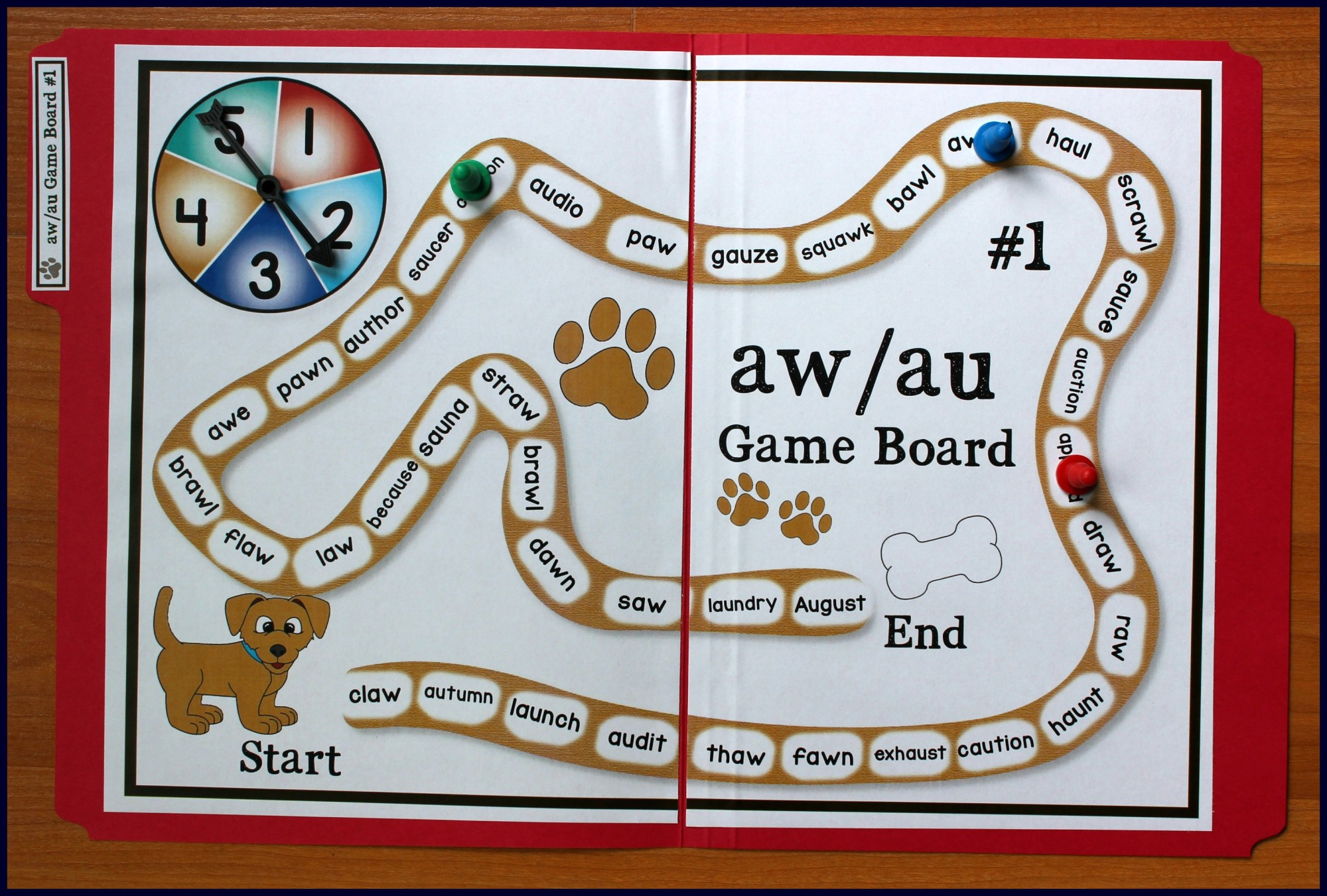 hight resolution of Activities for Teaching the au/aw Digraphs - Make Take \u0026 Teach