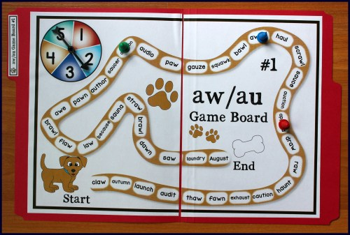 small resolution of Activities for Teaching the au/aw Digraphs - Make Take \u0026 Teach