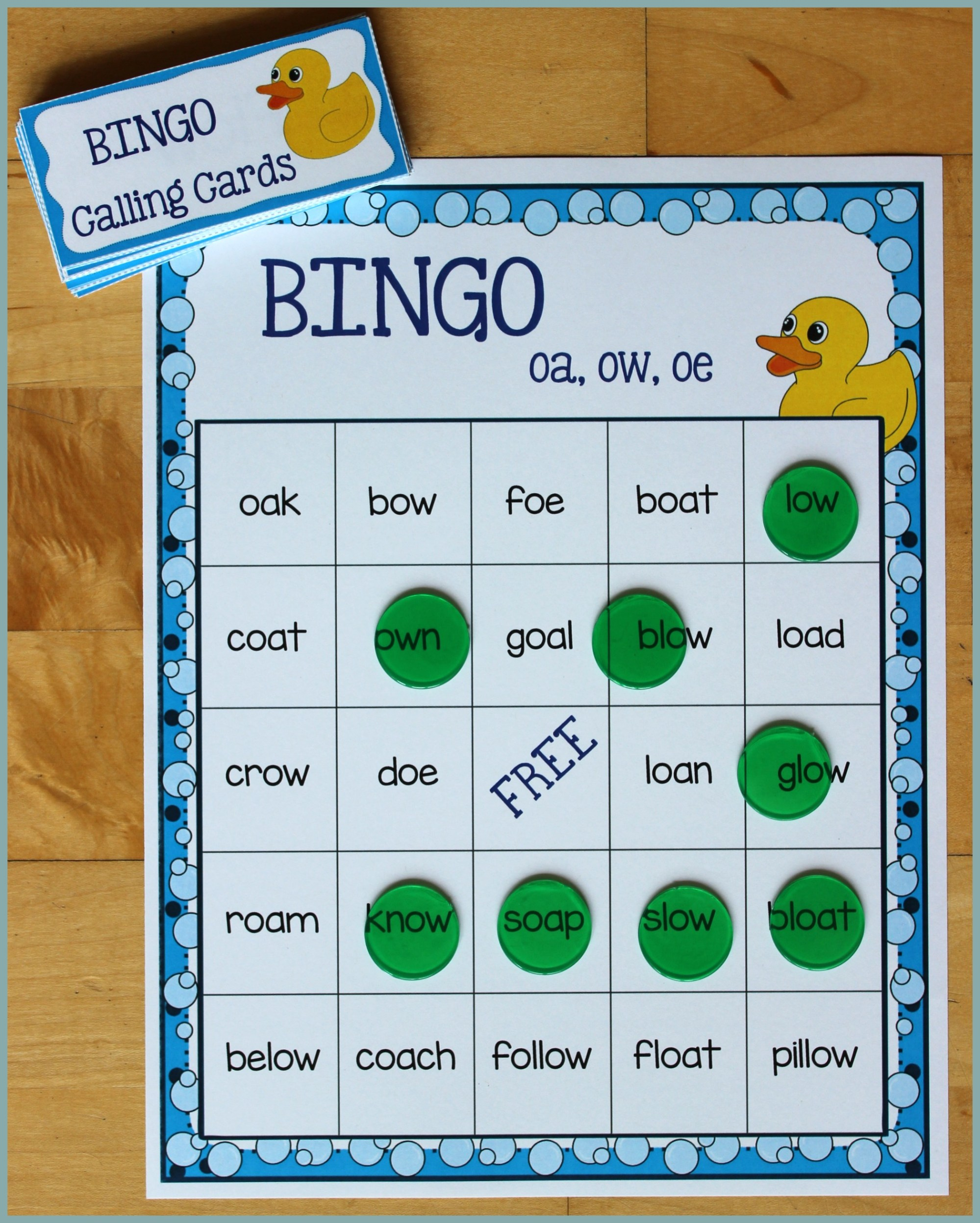 hight resolution of Activities for Teaching the oa/ow/oe Digraphs - Make Take \u0026 Teach