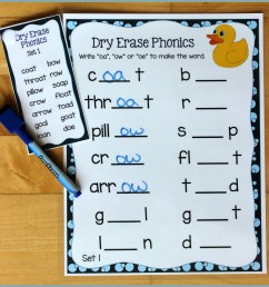 Activities for Teaching the oa/ow/oe Digraphs - Make Take \u0026 Teach [ 2164 x 2164 Pixel ]
