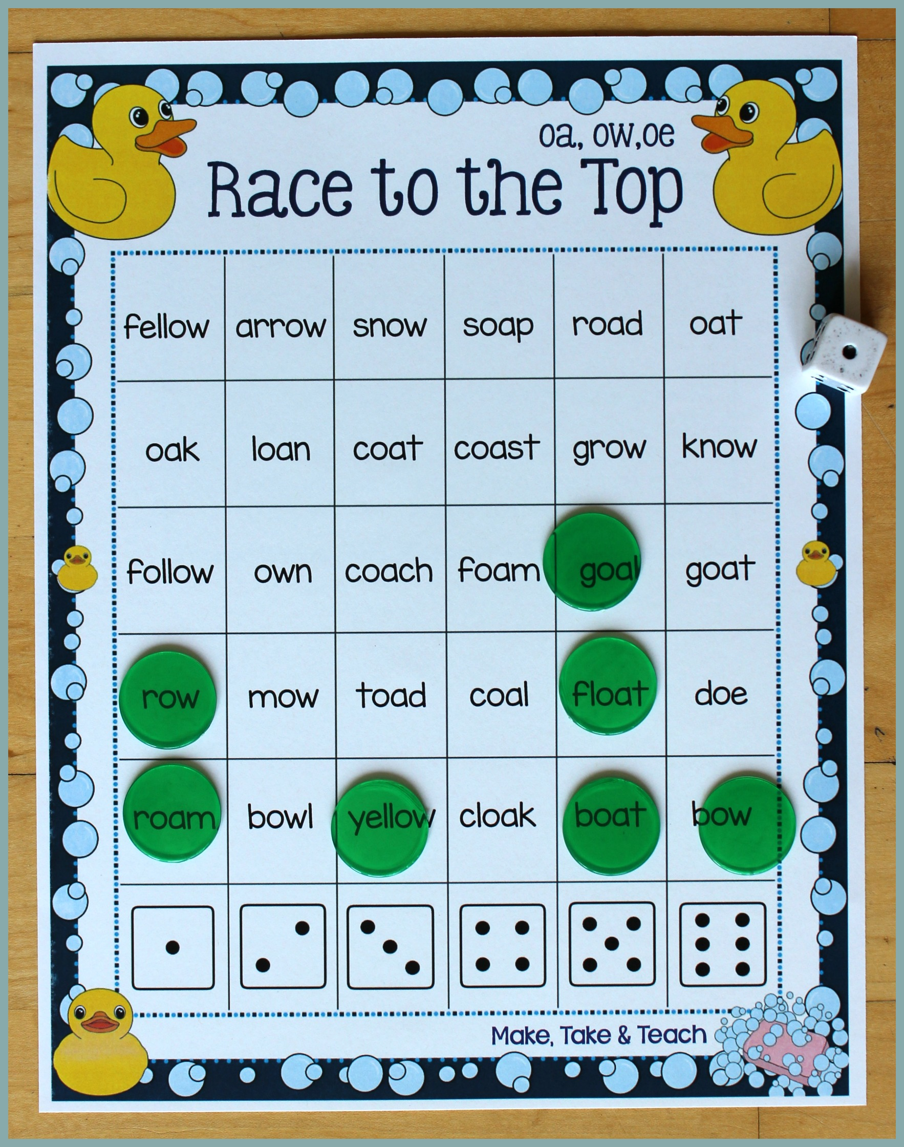 Teach Child How To Read Oa Words Phonics Sentences