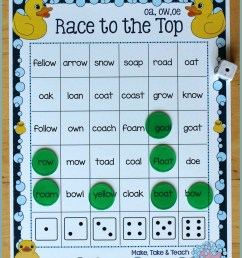 Activities for Teaching the oa/ow/oe Digraphs - Make Take \u0026 Teach [ 2239 x 1766 Pixel ]