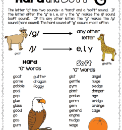 Free Resource for Teaching Hard and Soft C and G - Make Take \u0026 Teach [ 1018 x 778 Pixel ]