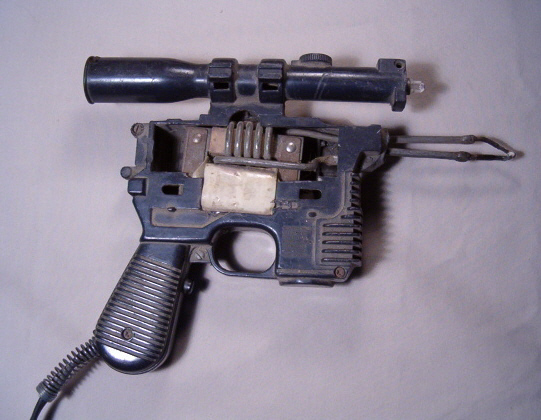 Soldering gun/Han Solo blaster