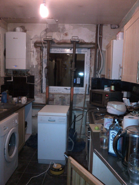 Knocking through kitchen dining room