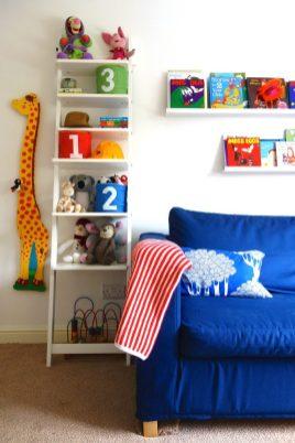 Ladder Shelves and Picture Ledges