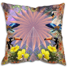 Illustrated Dreams Scatter Cushion by Cushion Art