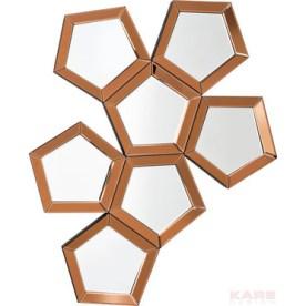 Pentagon Mirror by KARE Design