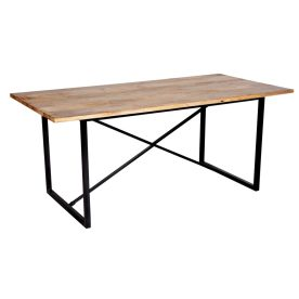 Terrace Industrial Dining Table by Prestington
