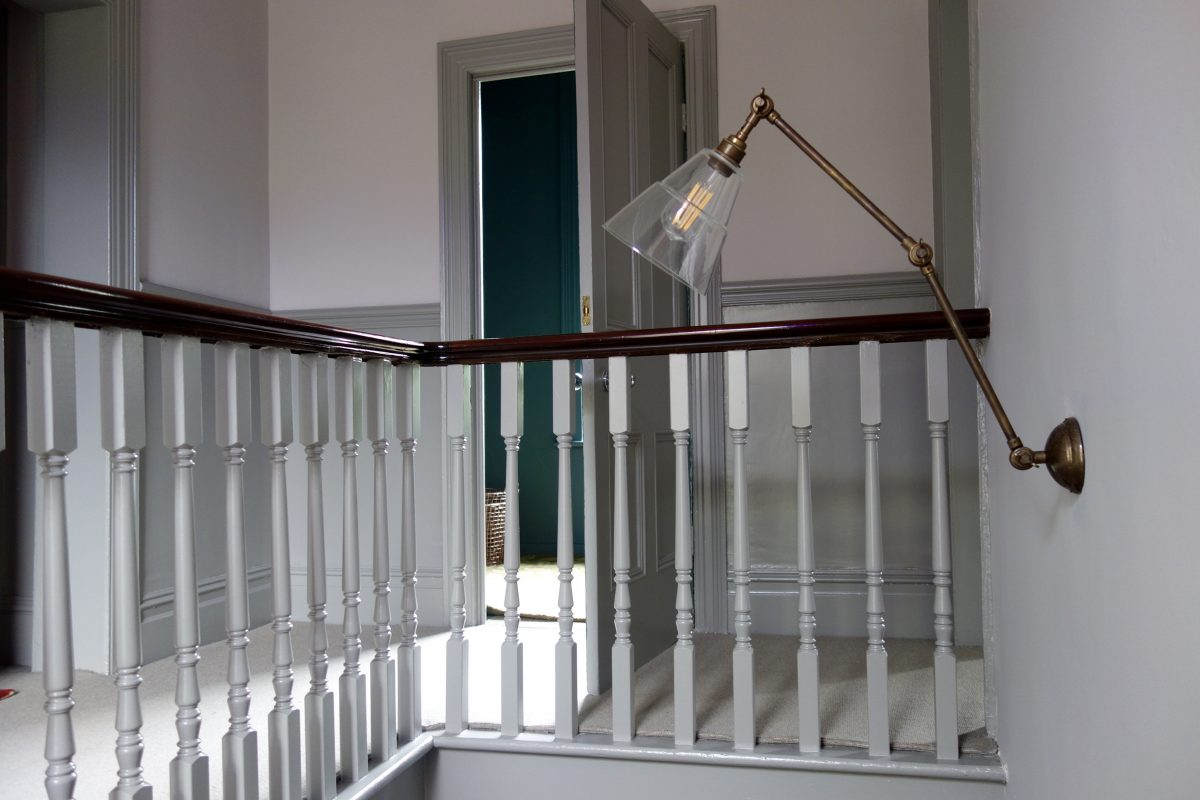 Farrow And Ball Railings Paint farrow & ball's peignoir and worsted - making spaces