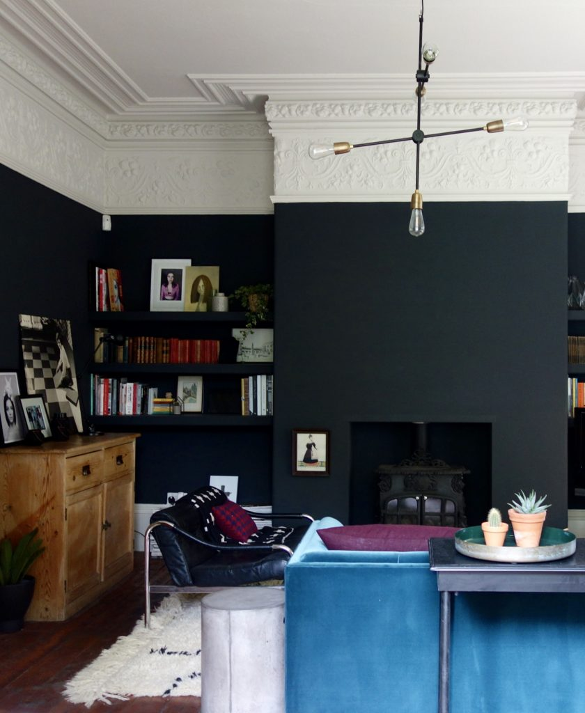 Farrow and Ball Off Black