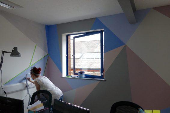 Geometric Wall Design