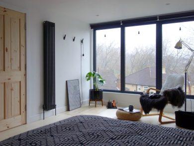 monochrome-loft-bedroom