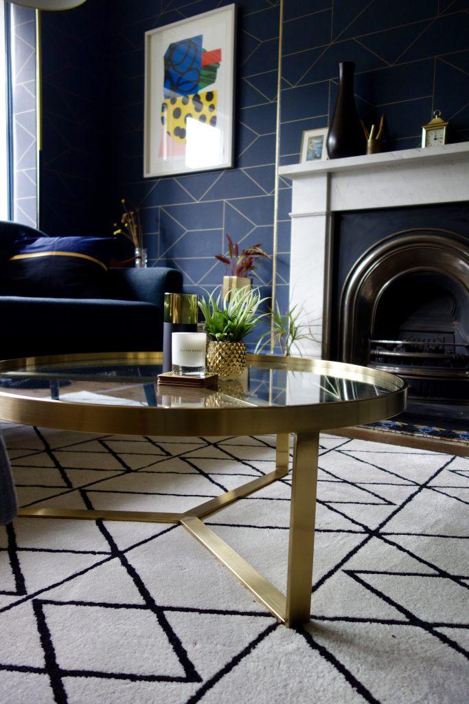 Aula Brass Table