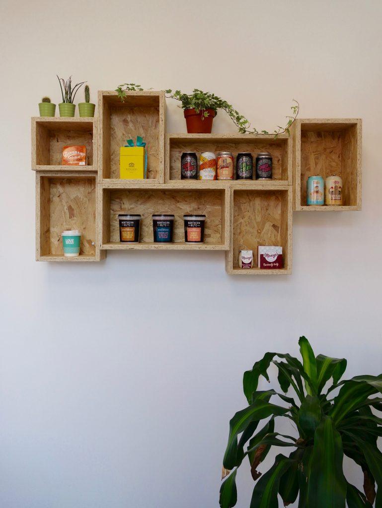 OSB Wall Shelves