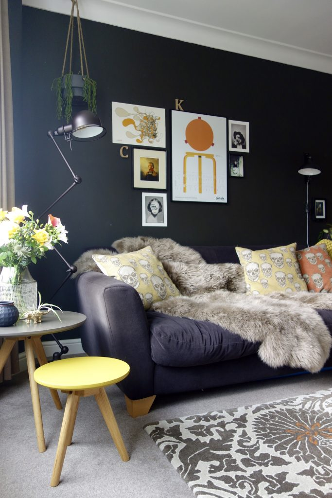 Valspar Arrowhead Black walls