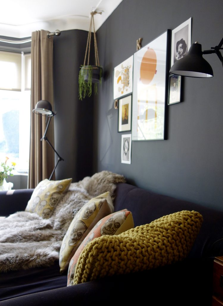 Black and tan interiors